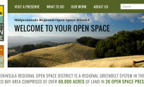Midpeninsula Regional Open Space District Web Design